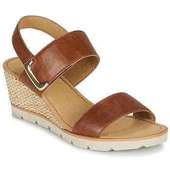 Shoes Women Sandals Gabor KERILA Cognac