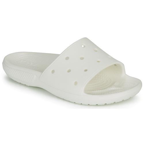 Shoes Sliders Crocs CLASSIC CROCS SLIDE White