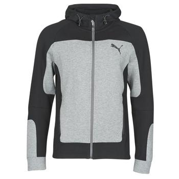 Clothing Men sweaters Puma EVOST HOOD Grey