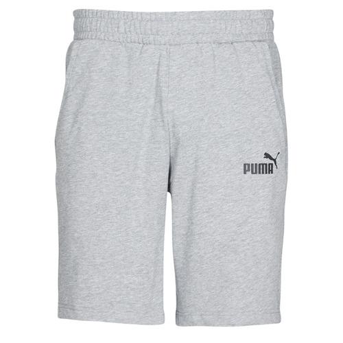 Clothing Men Shorts / Bermudas Puma JERSEY SHORT Grey