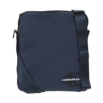 Bags Men Pouches / Clutches Calvin Klein Jeans CKJ MONOGRAM NYLON MICRO FP Marine