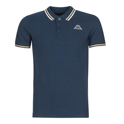 Clothing Men Short-sleeved polo shirts Kappa ESMO Blue