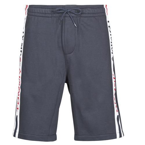 Clothing Men Shorts / Bermudas Tommy Jeans TJM BRANDED TAPE SHORT Marine