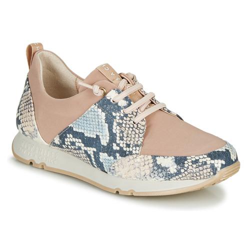 Shoes Women Low top trainers Hispanitas KIOTO Beige / Blue