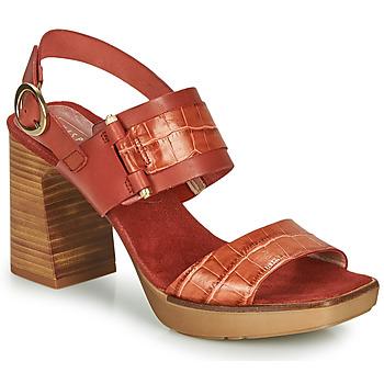 Shoes Women Sandals Hispanitas PETRA Brown