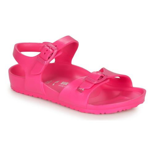 Shoes Girl Sandals Birkenstock RIO EVA Pink