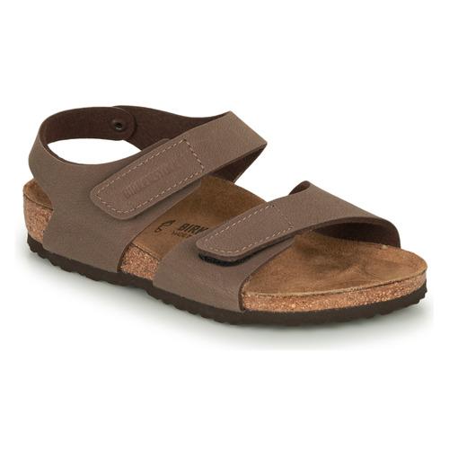 Shoes Children Sandals Birkenstock PALU Brown