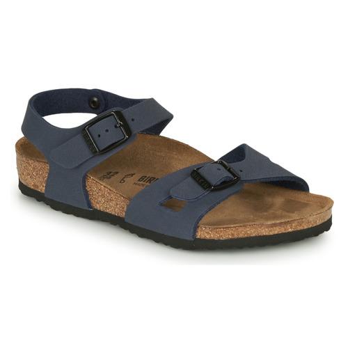 Shoes Children Sandals Birkenstock RIO Navy