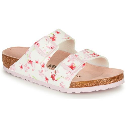 Shoes Women Mules Birkenstock ARIZONA White