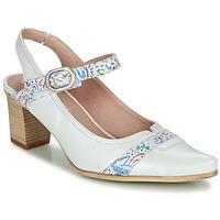 Shoes Women Heels Dorking LEA White