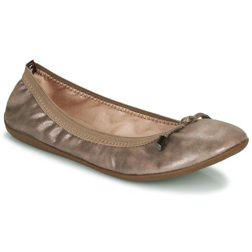 Shoes Women Flat shoes Les Petites Bombes AVA Bronze