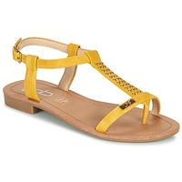 Shoes Women Sandals Les Petites Bombes EMILIE Mustard