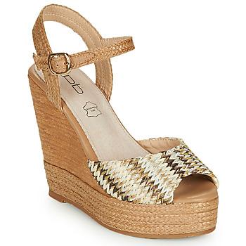 Shoes Women Sandals Les Petites Bombes PAOLA Beige