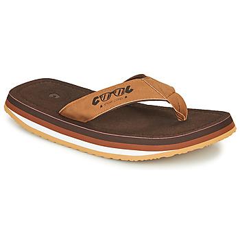 Shoes Men Flip flops Cool shoe ORIGINAL Brown