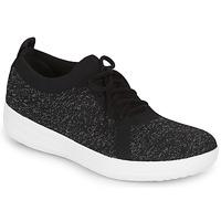 Shoes Women Low top trainers FitFlop F-SPORTY UBERKNIT SNEAKERS Black