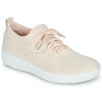 Shoes Women Low top trainers FitFlop F-SPORTY UBERKNIT SNEAKERS Pink