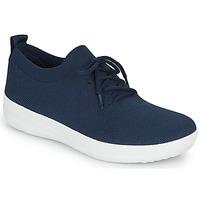 Shoes Women Low top trainers FitFlop F-SPORTY UBERKNIT SNEAKERS Blue