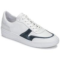 Shoes Men Low top trainers Schmoove EVOC-SNEAKER White / Blue