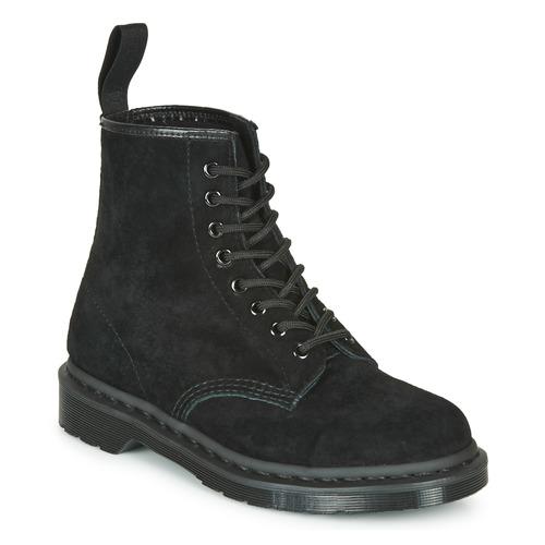 Shoes Mid boots Dr Martens 1460 MONO SOFT BUCK Black