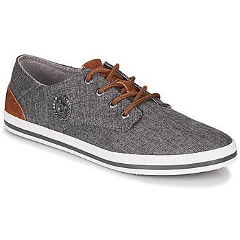 Shoes Men Low top trainers Bugatti ALFA Grey / Blue