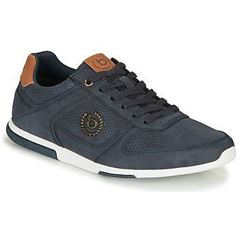 Shoes Men Low top trainers Bugatti REPORT Blue