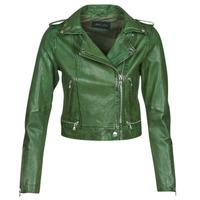 Clothing Women Leather jackets / Imitation leather Oakwood KYOTO Green