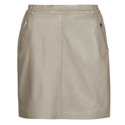 Clothing Women Skirts Oakwood PHOEBE Taupe