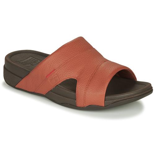 Shoes Men Sandals FitFlop FREEWAY Tan