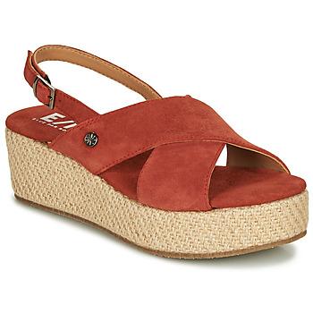 Shoes Women Sandals Elue par nous GESIEL Red