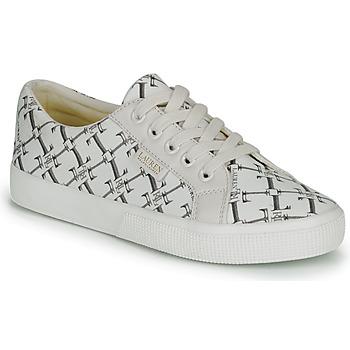 Shoes Women Low top trainers Lauren Ralph Lauren JAYCEE NE SNEAKERS VULC Cream