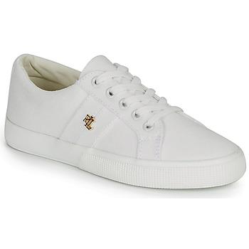 Shoes Women Low top trainers Lauren Ralph Lauren JANSON II White