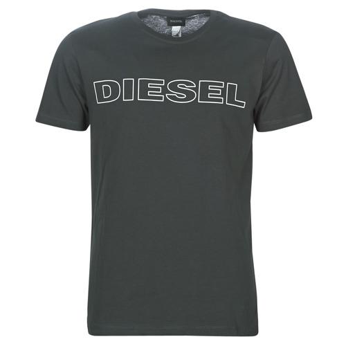 Clothing Men short-sleeved t-shirts Diesel UMLT-JAKE Grey