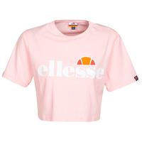 Clothing Women Short-sleeved t-shirts Ellesse ALBERTA Pink