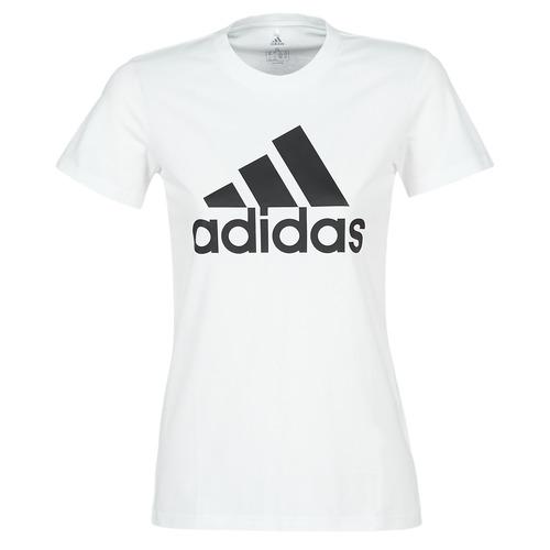 Clothing Women Short-sleeved t-shirts adidas Performance BOS CO TEE White