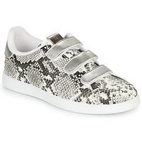 Shoes Women Low top trainers Victoria TENIS SERPIENTE VELCRO Grey