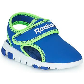 Shoes Boy Sandals Reebok Sport WAVE GLIDER III Blue / Green