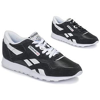 Shoes Women Low top trainers Reebok Classic CL NYLON Black
