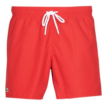 Clothing Men Trunks / Swim shorts Lacoste JEANNAH Red