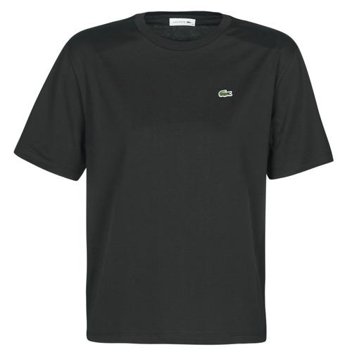Clothing Women Short-sleeved t-shirts Lacoste BERNARD Black
