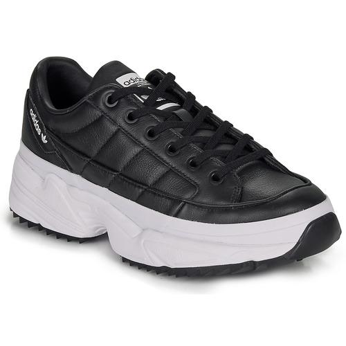 Shoes Women Low top trainers adidas Originals KIELLOR W Black