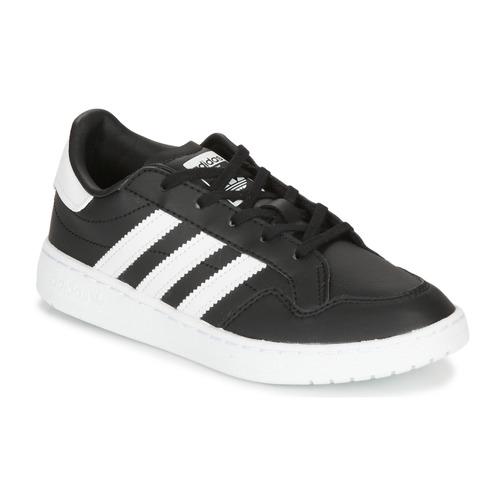 Shoes Children Low top trainers adidas Originals Novice C Black / White