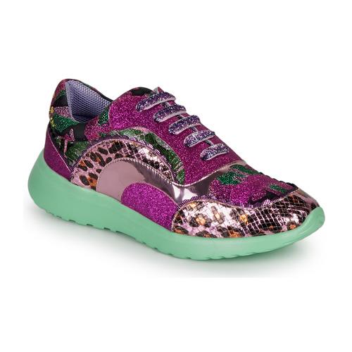 Shoes Women Low top trainers Irregular Choice JIGSAW Purple