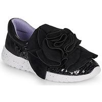 Shoes Women Low top trainers Irregular Choice RAGTIME RUFFLES Black