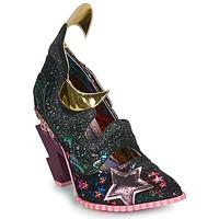 Shoes Women Heels Irregular Choice GALACTIC THUNDER Black