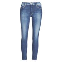 Clothing Women slim jeans Le Temps des Cerises PULP SLIM TAILLE HAUTE 7/8 Blue