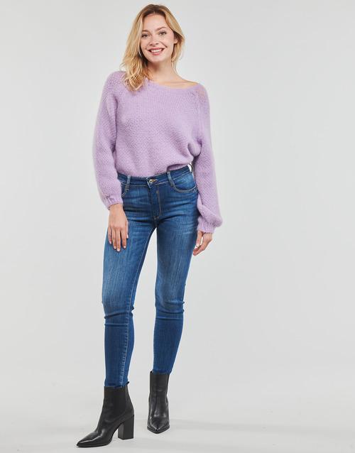 Clothing Women Straight jeans Le Temps des Cerises PULP REGULAR Blue