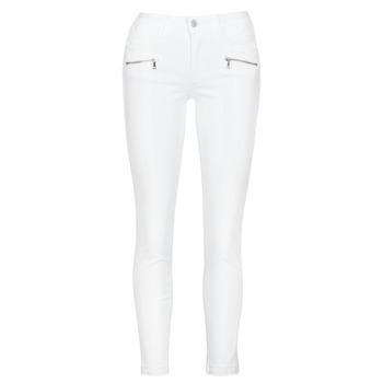 Clothing Women Skinny jeans Le Temps des Cerises KIEV SKINY7/8 White