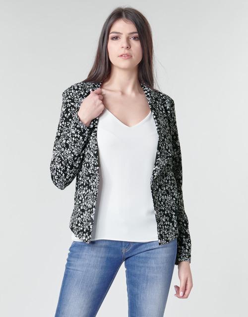 Clothing Women Jackets / Blazers Le Temps des Cerises OPAL Black