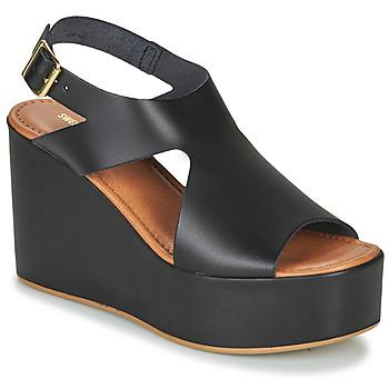Shoes Women Sandals Sweet Lemon IJOX Black