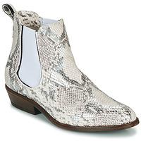 Shoes Women Mid boots Sweet Lemon DAWI Cream